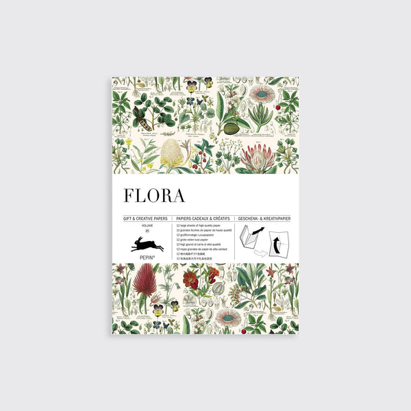 Gift wrap flora | Pepin press