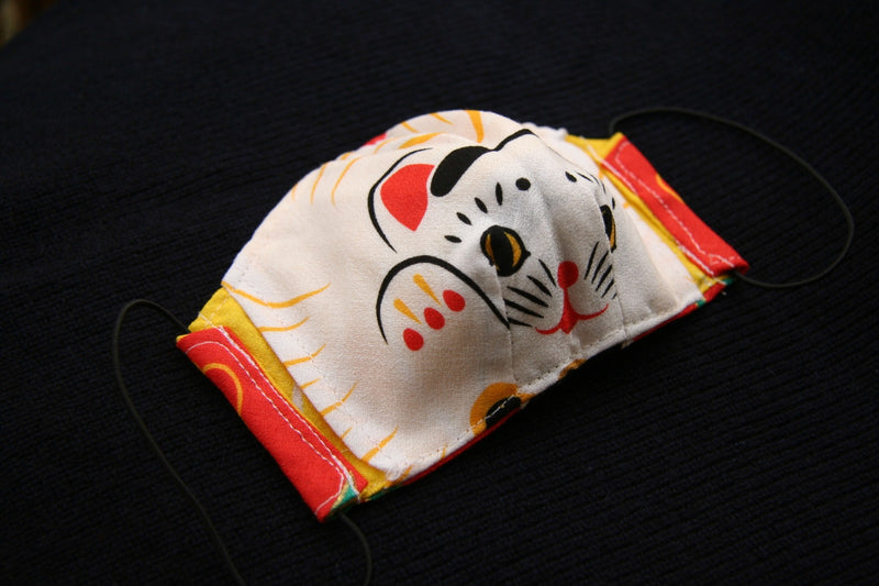 "Masque traditionnel ""Furoshiki"" éco-friendly"