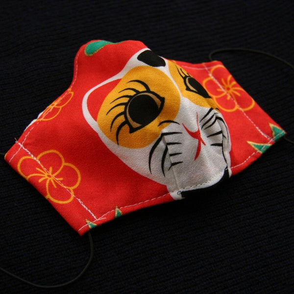 "Traditional ""Furoshiki"" eco-friendly mask"
