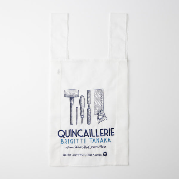 """Quincaillerie"" bag in organza and embroidery"