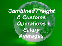 1. 2019 Freight Forwarding & Customs Brokerage Salary Averages combo - All Operations