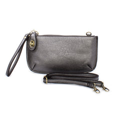 Joy Susan Faux Leather Mini in pewter