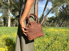 Alfonse Cork Leather Bag
