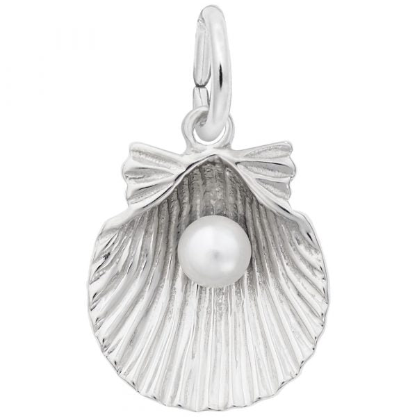RC 0508 SHELL WITH PEARL CHARM