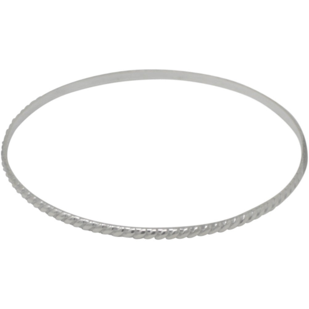 TM 7 THIN TWISTED BANGLE