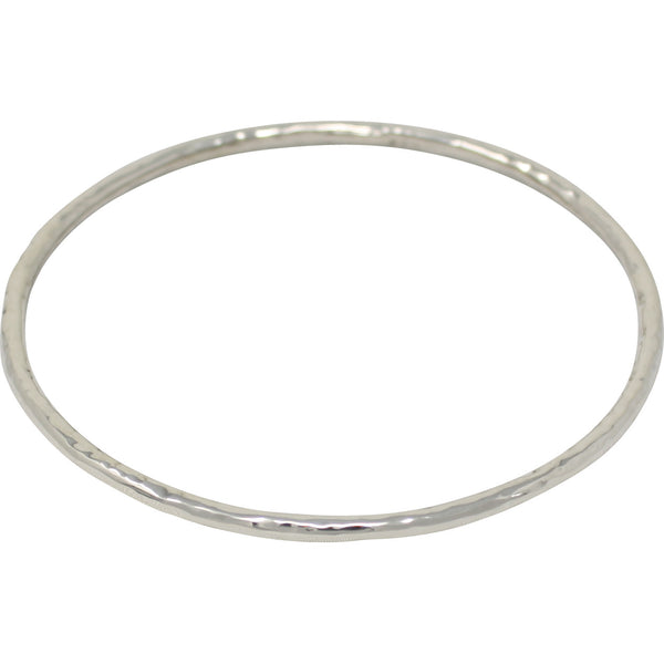 TM 9 THIN HAMMERED TUBE BANGLE