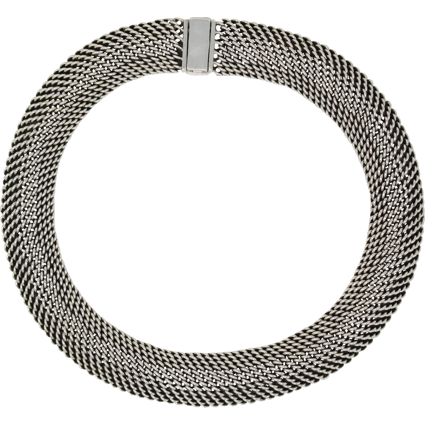 TM 270 HEAVY MESH NECKLACE