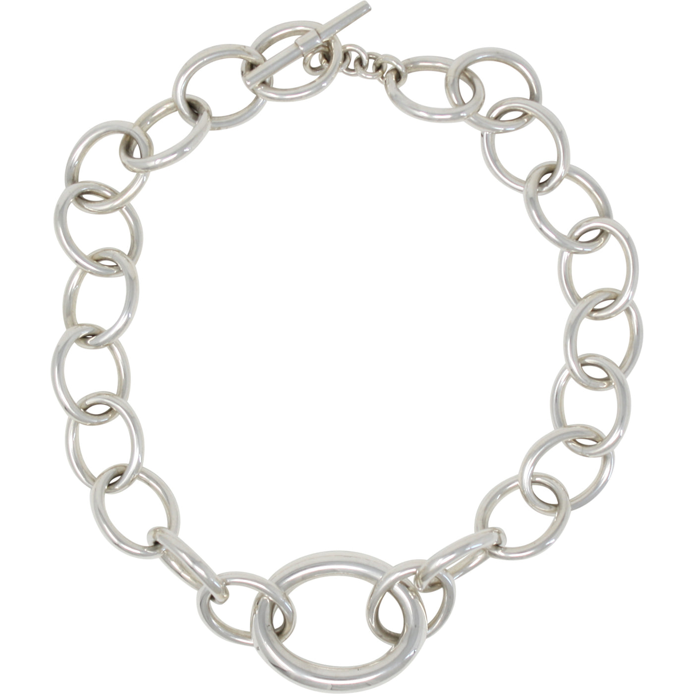 FM 800013 64 OVAL LINK NECKLACE