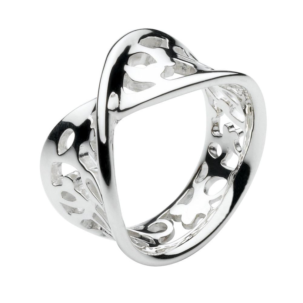 KH 20010HP/7 TWISTED BLOSSOM RING