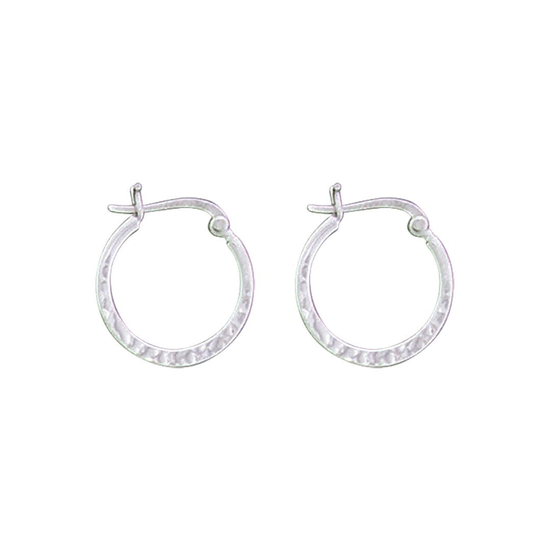 AO 22011 SMALL HAMMERED HOOPS