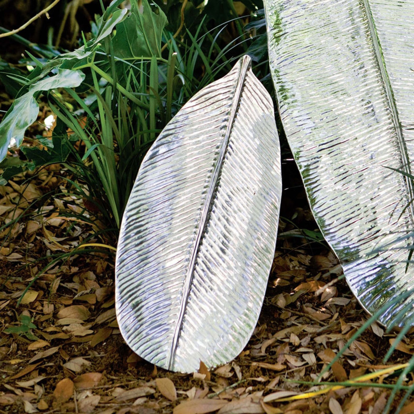 BB 5648 GARDEN JUNGLE LEAF PLATTER