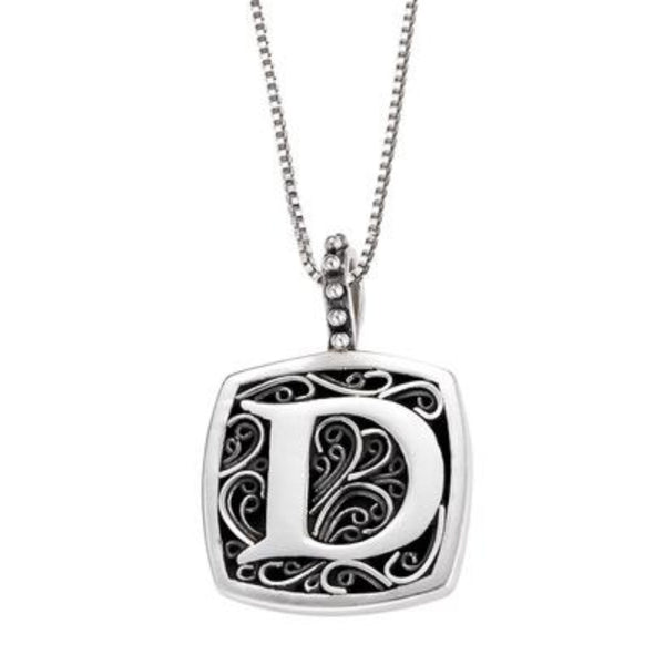 LB 59900XD D INITIAL NECKLACE