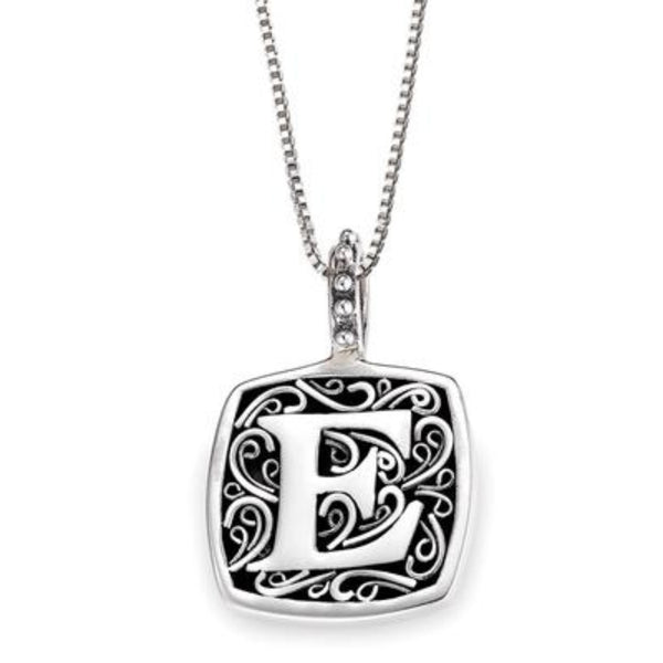 LB 59900XE E INITIAL NECKLACE