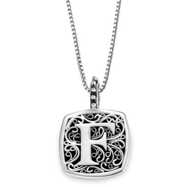 LB 59900XF F INITIAL NECKLACE