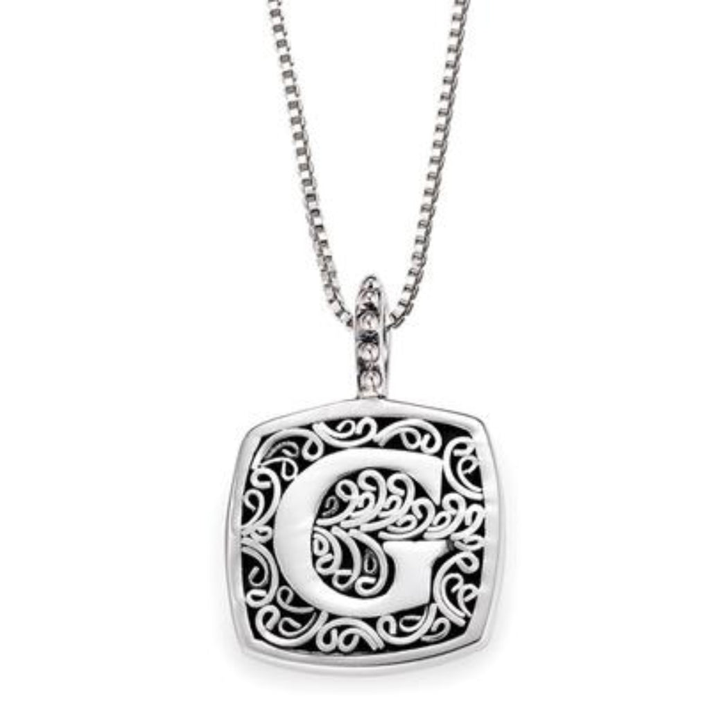 LB 59900XG G INITIAL NECKLACE