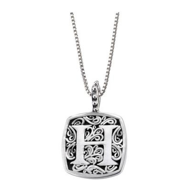 LB 59900XH H INITIAL NECKLACE