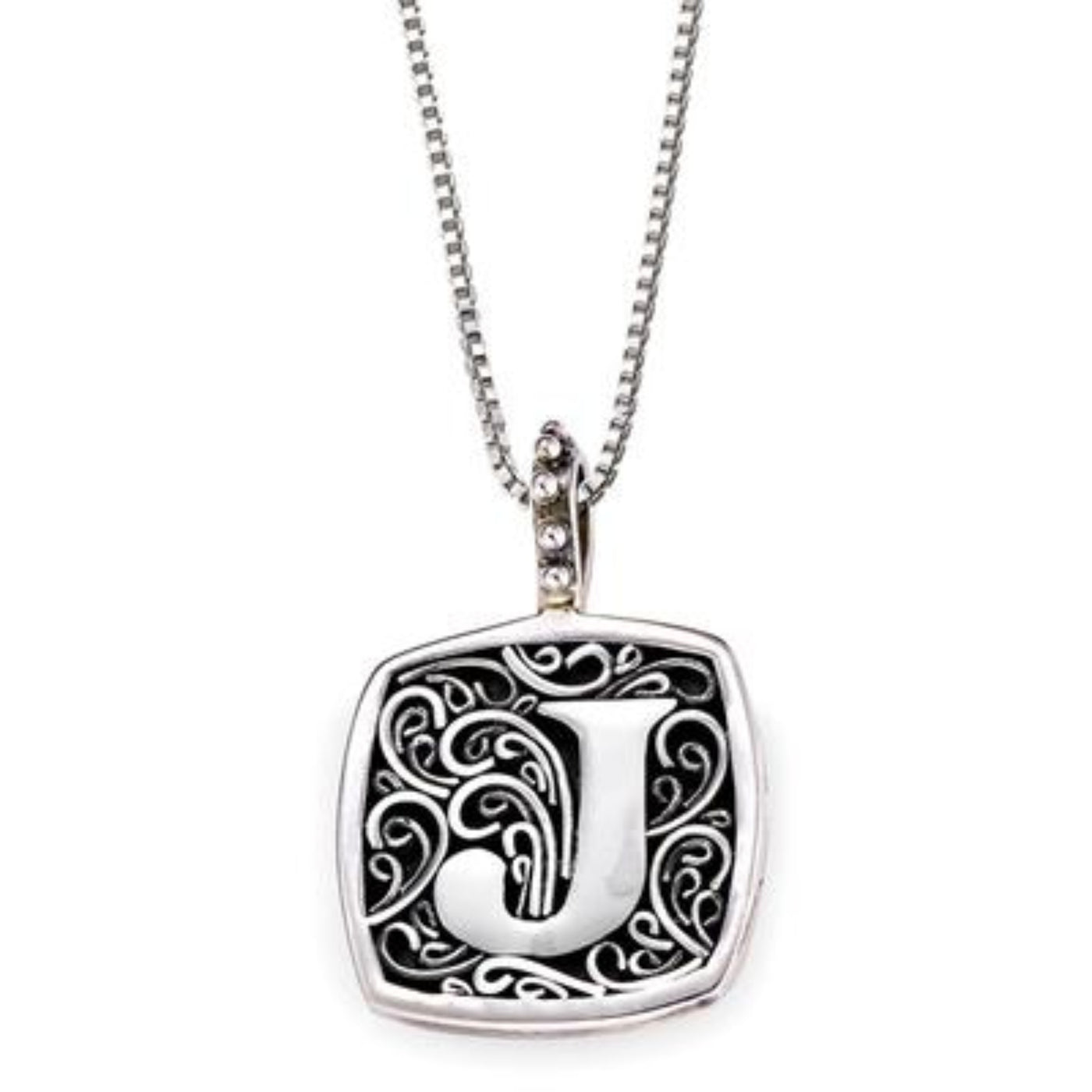 LB 59900XJ J INITIAL NECKLACE