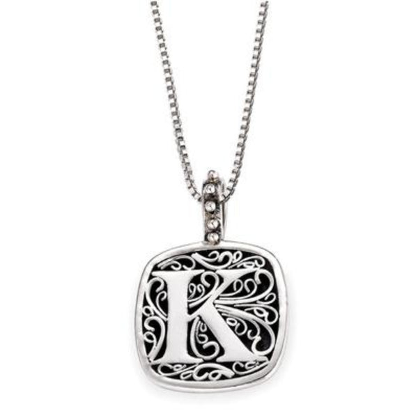 LB 59900XK K INITIAL NECKLACE