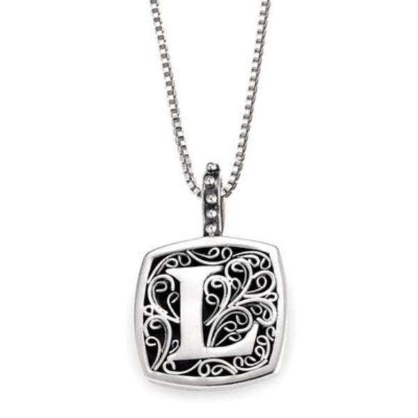 LB 59900XL L INITIAL NECKLACE