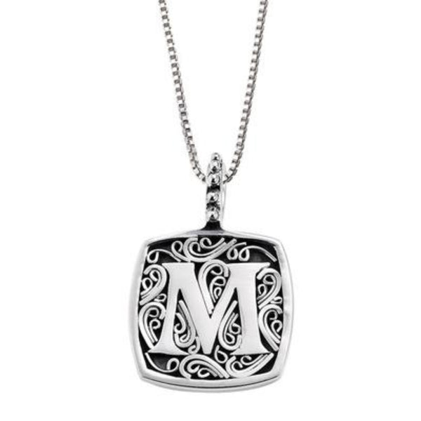 LB 59900XM M INITIAL NECKLACE