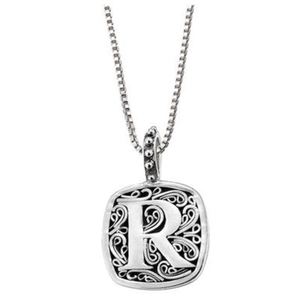 LB 59900XR R INITIAL NECKLACE