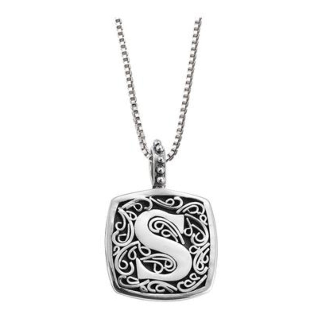 LB 59900XS S INITIAL NECKLACE