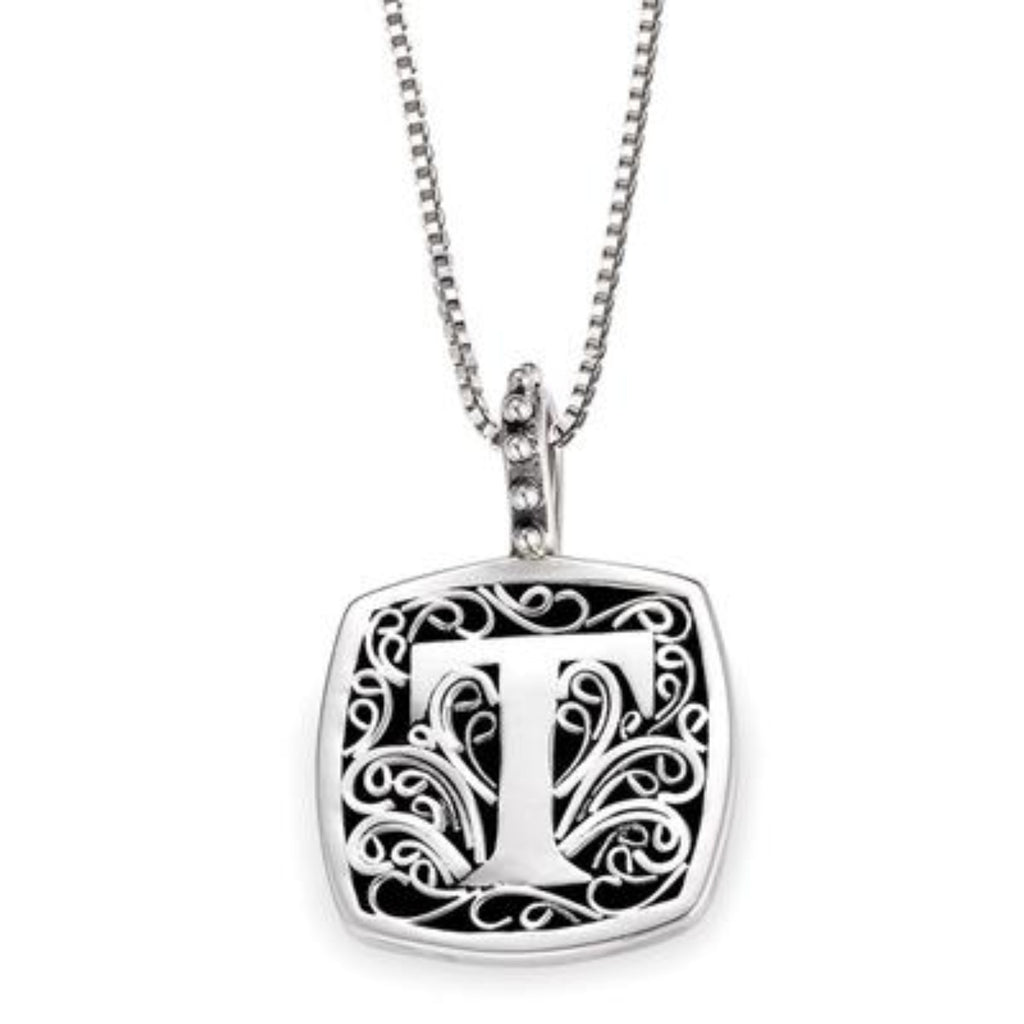 LB 59900XT T INITIAL NECKLACE