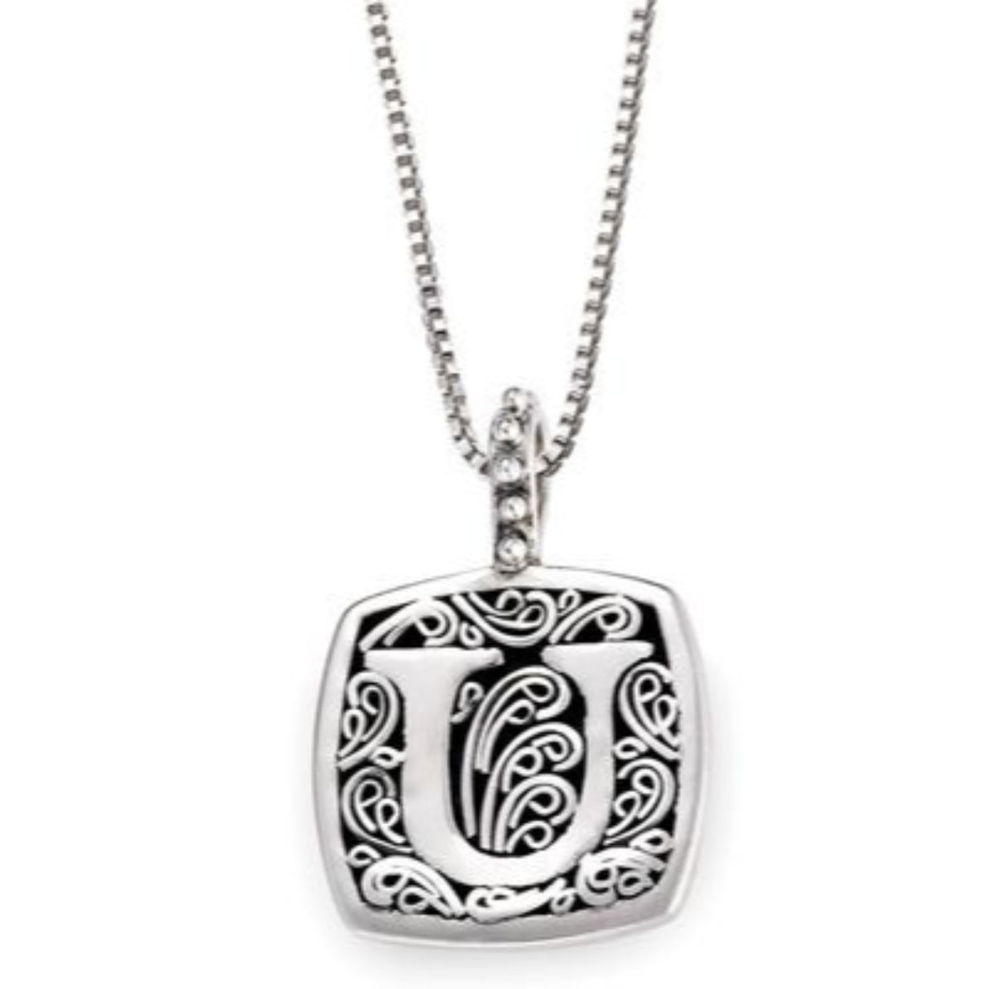 LB 59900XU U INITIAL NECKLACE