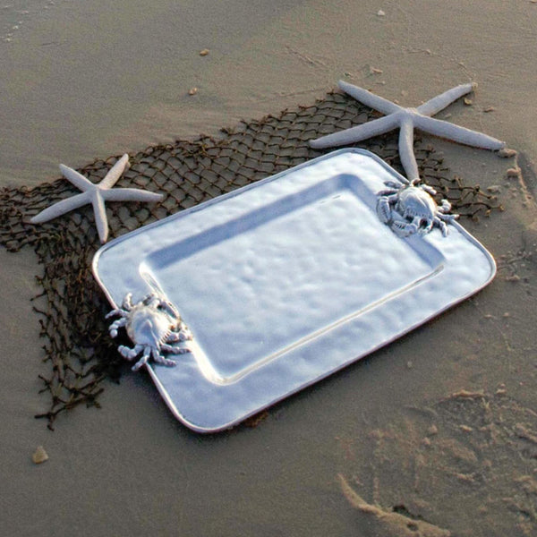 BB 6389 OCEAN CRAB RECTANGLE PLATTER