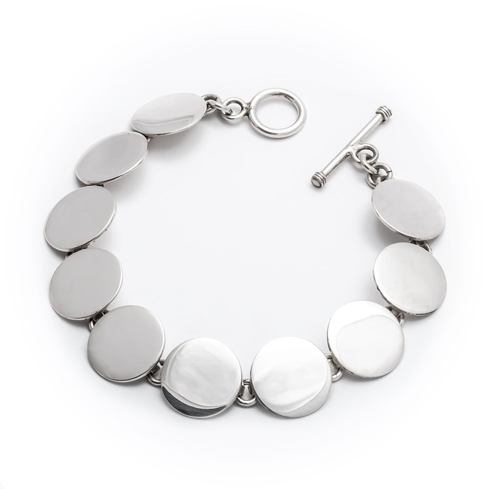 TM 23 SMOOTH DISC BRACELET