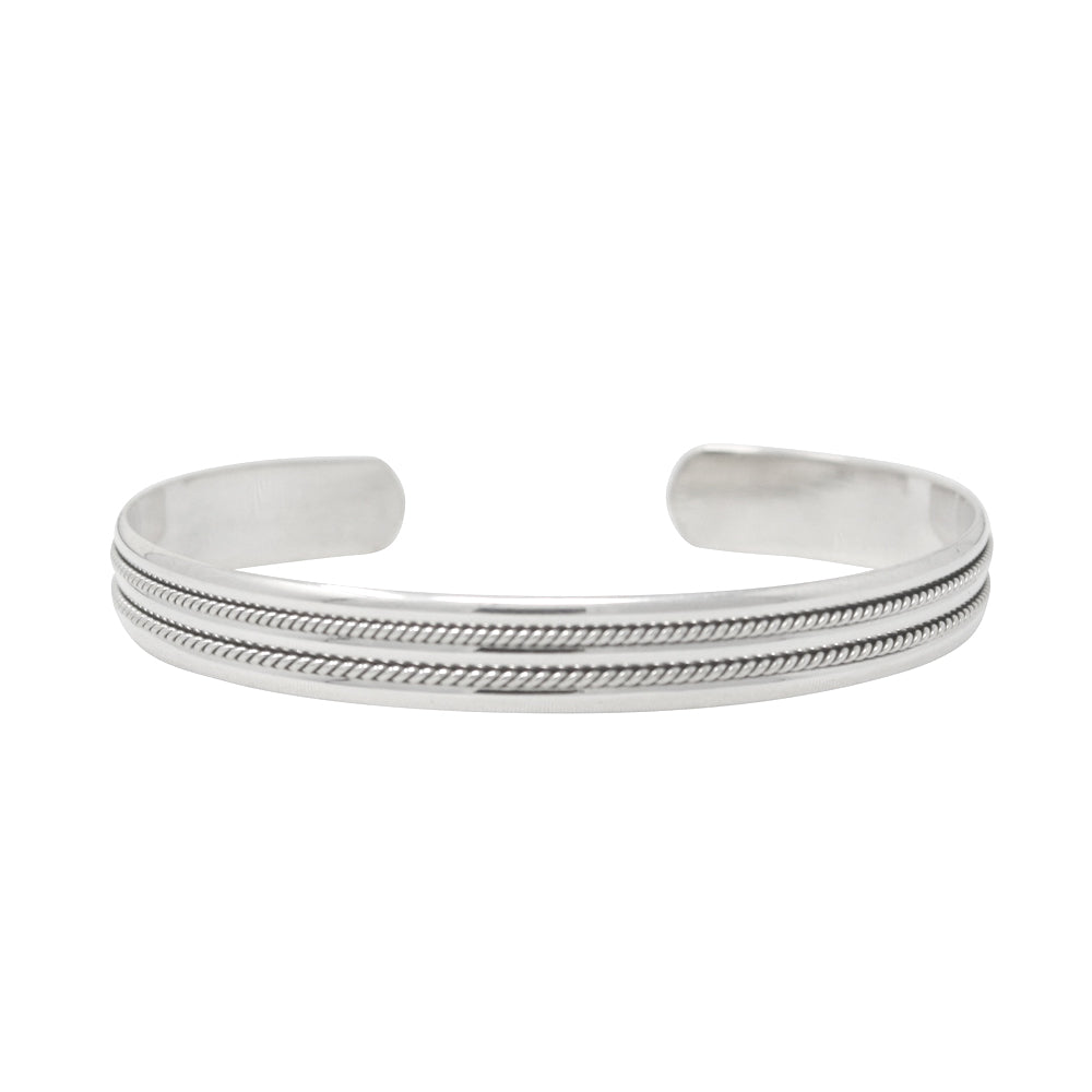 TM 15 DOUBLE ROPE CUFF BRACELET