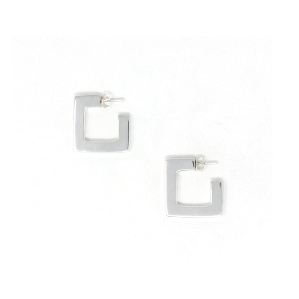 PD 12945 SQUARE HOOP EARRINGS