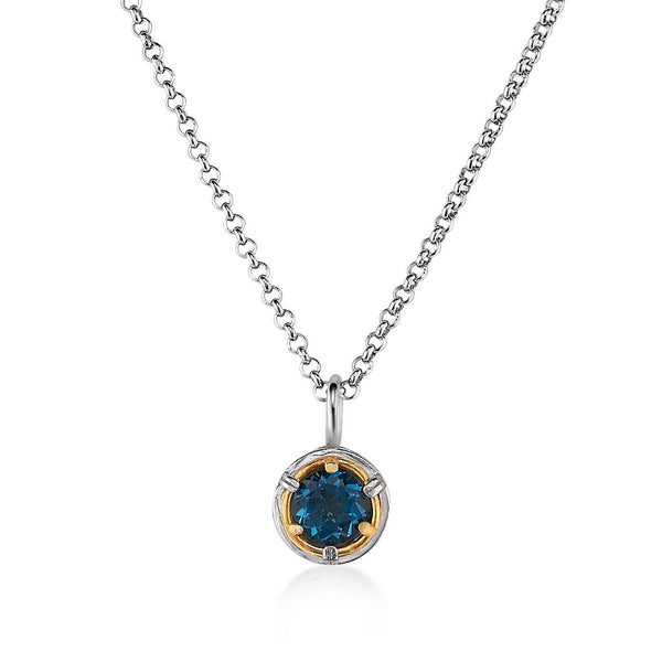 AT 8022AT LONDON BLUE TOPAZ NECKLACE