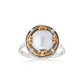 AT 810RT8 FLORAL PEARL RING