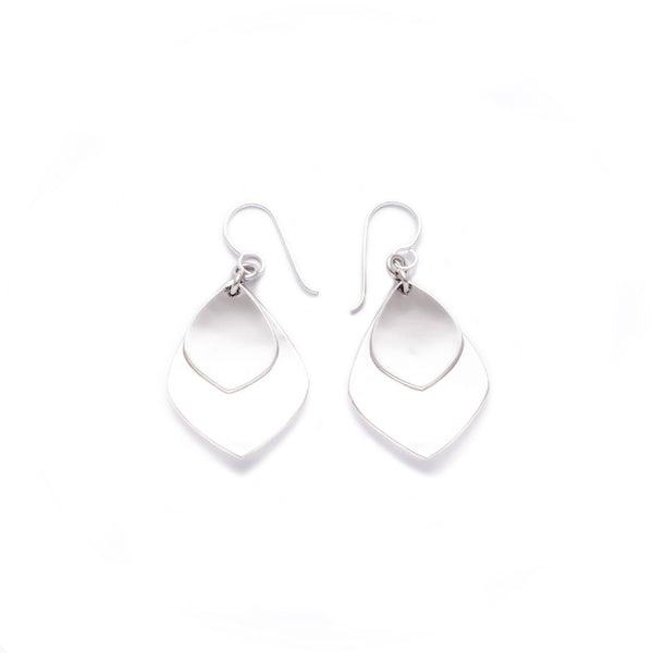 MM 12 DOUBLE TEAR DROP EARRINGS