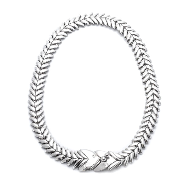 108 SMALL FISHBONE NECKLACE