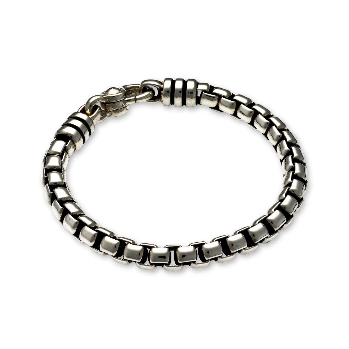ZN A420/8.5 MENS WHEAT BRACELET