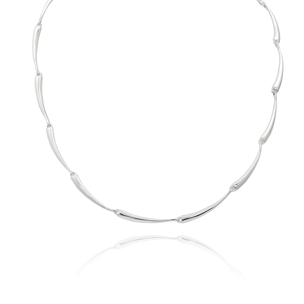 ZN A73/17 TAPERED LINK NECKLACE