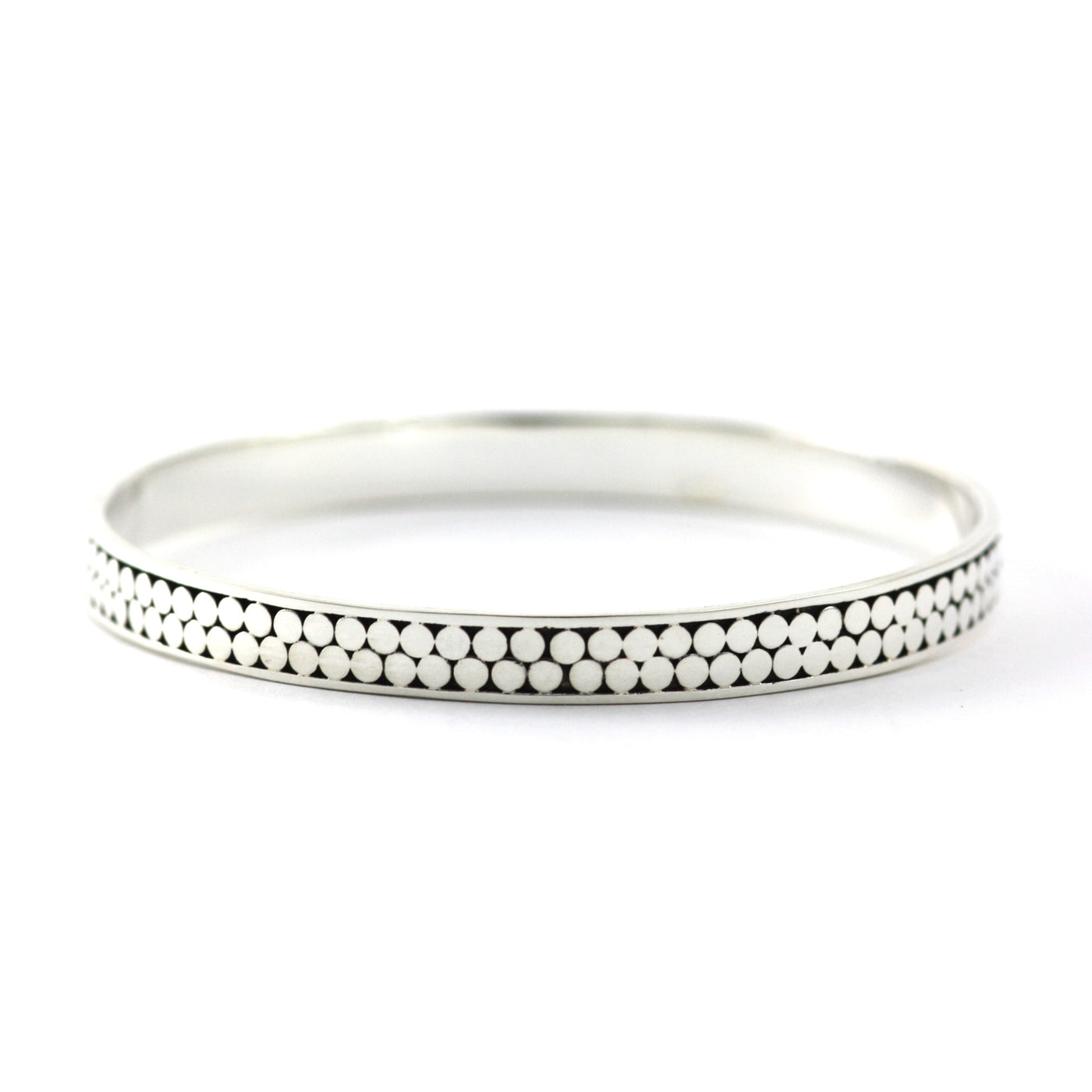 ID B319 DOTTED BANGLE BRACELET