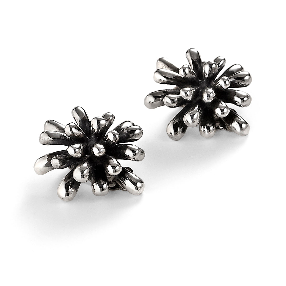 ZN B487 FIREWORK CLIP EARRINGS