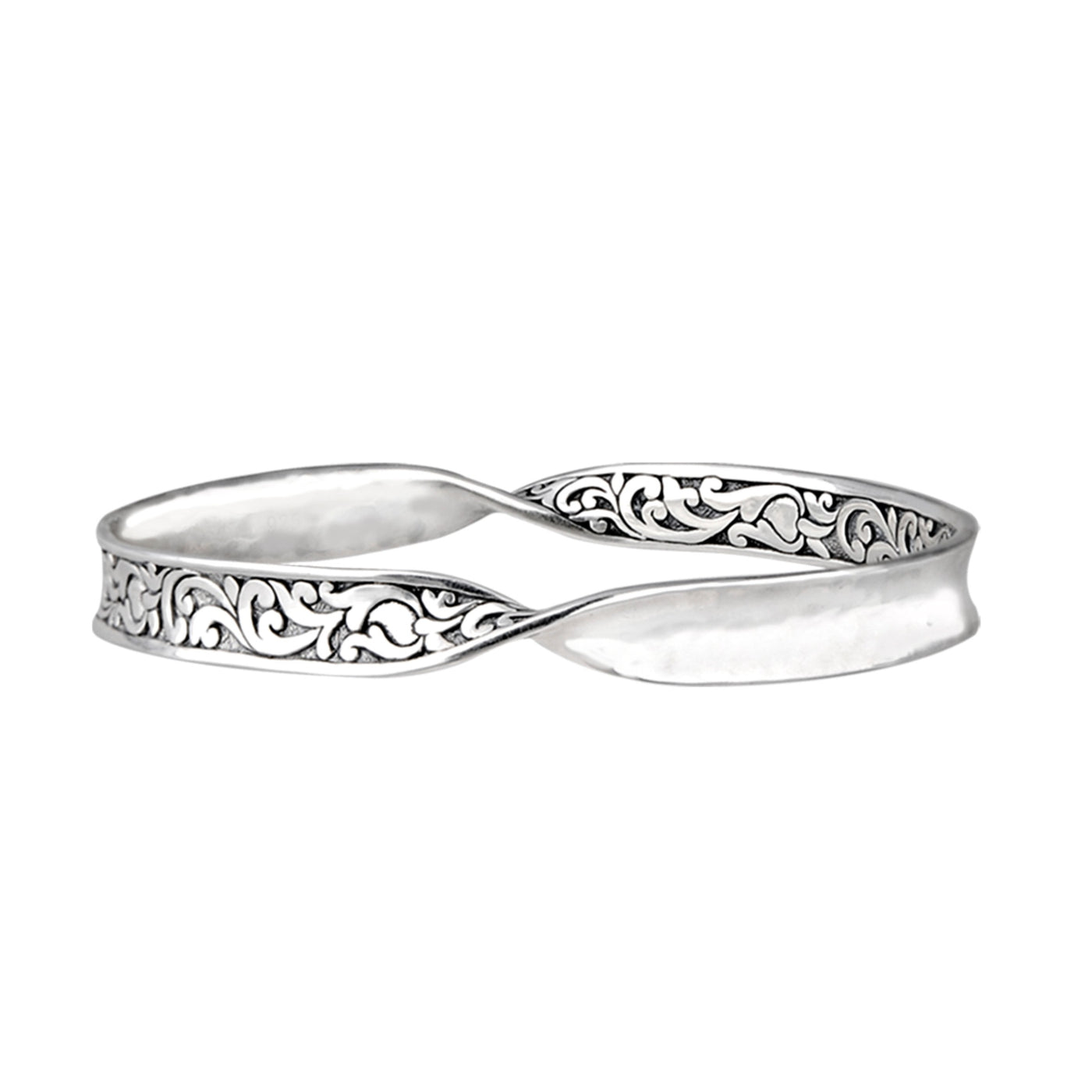JD B64052 TWISTED FILIGREE BANGLE