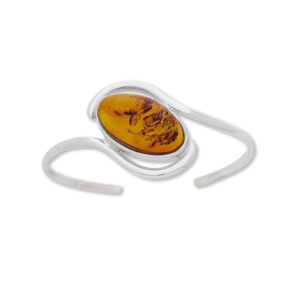 BS BAC AMBER OVAL WAVE CUFF