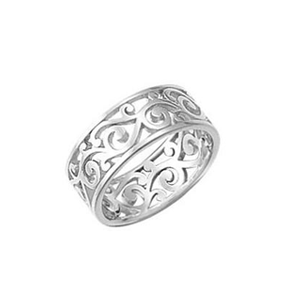 BO RB4385 FILIGREE BAND RING