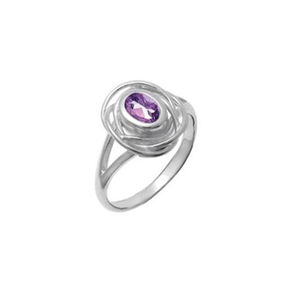 BO RF530 AMETHYST OVAL RING