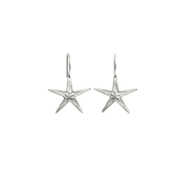 CW E128S STARFISH DROP EARRINGS