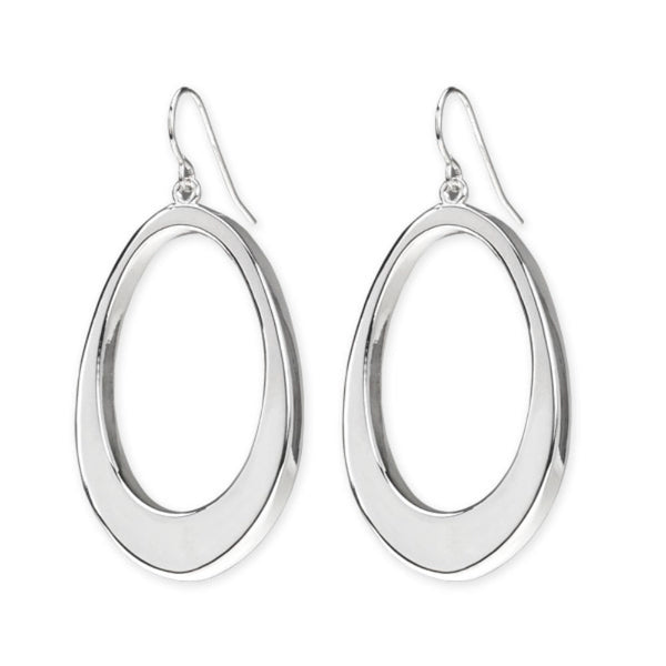 SSB E2417 OPEN OVAL EARRINGS