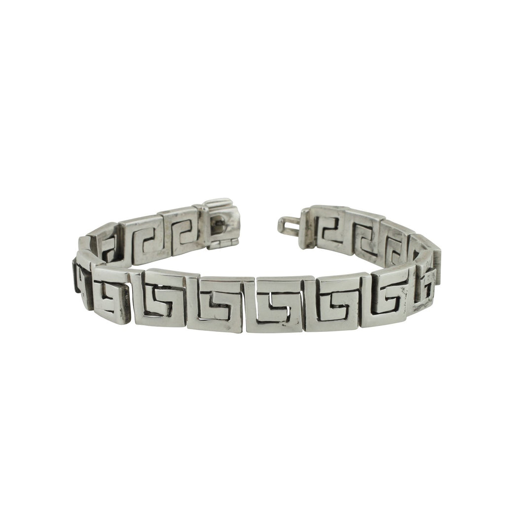 CH 54 GREEK KEY LINK BRACELET