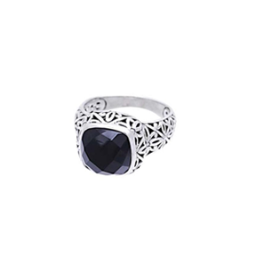 JD R59624 ONYX SQUARE RING