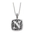 LB 59900XN N INITIAL NECKLACE