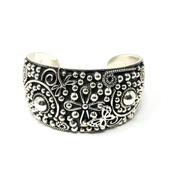 MM 63 OXIDIZED NATURE DESIGN CUFF